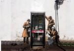世界十大著名街头艺术作品 班克斯间谍壁画排名第一