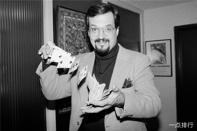 世界十大魔术师  大卫·科波菲尔只能排第三