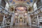 全球十大最美图书馆 排名第一的阿德蒙特修道院图书馆本身就是一件艺术品