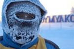 世界最冷马拉松 呼口气都能结冰