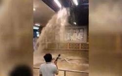 迪拜人工降雨引发暴雨 迪拜最豪华购物中心被淹