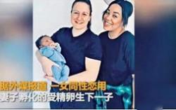 全球首例共享母亲 英国一对女同性恋人共同育子