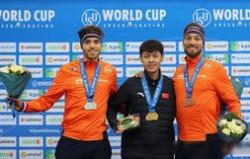 中国速滑首夺金牌 宁忠岩打破中国速滑新纪录