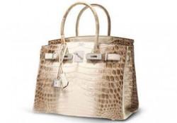 世界十大最昂贵手袋 爱马仕镶钻喜马拉雅铂金包仅排第二
