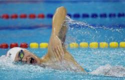 孙杨自由泳夺冠 以3分44秒07力压拉普赛斯