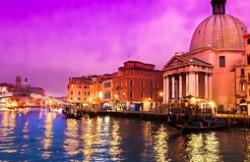 世界十大最美日落排名 威尼斯粉色日落最为梦幻