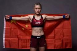 张伟丽卫冕金腰带 中国首位UFC冠军再次出击