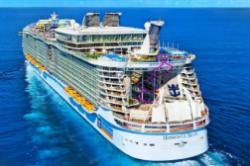 世界上最大的游轮 长约360米可容纳6296名乘客