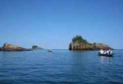 世界上最大的淡水湖 苏必利尔湖面积:82414平方千米