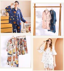 夏季睡衣舒适好物推荐-便宜好穿又凉快的女性睡衣集锦