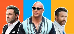2020年全球收入最高男演员排行-巨石强森排名第一